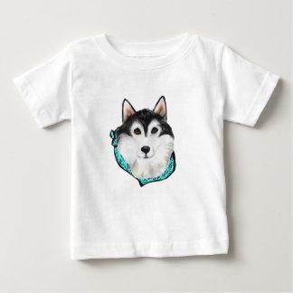 T-shirt Pour Bébé Malamute d'Alaska
