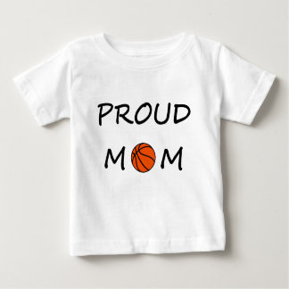 T-shirt Pour Bébé Maman de basket-ball