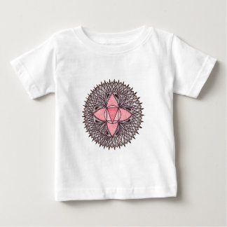 T-shirt Pour Bébé Mandala de Chakra de racine