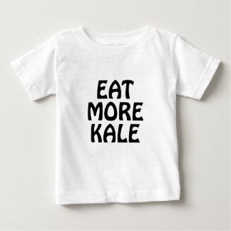 T-shirt Pour Bébé Mangez de plus de chou frisé