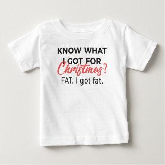T-shirt Pour Bébé Mangez poids Desig drôle de gain obtenu par
