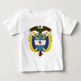 T-shirt Pour Bébé Manteau de la Colombie des bras