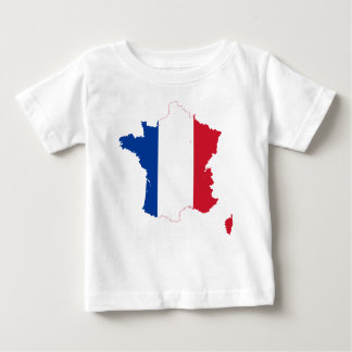 T-shirt Pour Bébé map-of-france-1290790