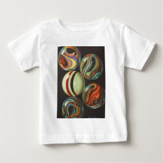 T-shirt Pour Bébé Marbres