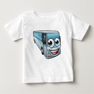T-shirt Pour Bébé Mascotte de personnage de dessin animé d'autobus