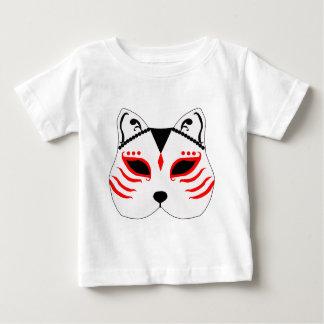 T-shirt Pour Bébé Masque japonais de chat