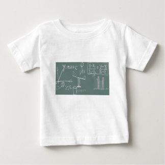 T-shirt Pour Bébé mathématiques sur le vert