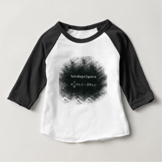 T-shirt Pour Bébé Maths d'équation de Schrödinger et physique de