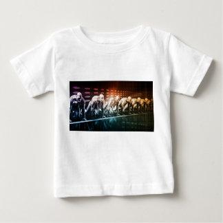 T-shirt Pour Bébé Médias et réseau créatifs du contenu numérique