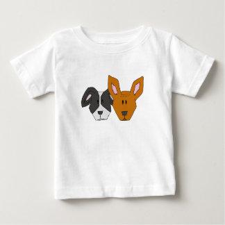 T-shirt Pour Bébé Meilleurs amis - les chiens