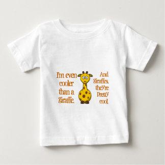 T-shirt Pour Bébé Même les bébés sont frais ; Cool comme girafes