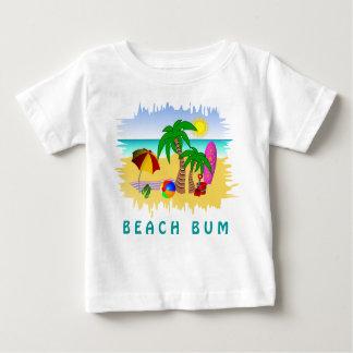 T-shirt Pour Bébé Mer sans valeur de Sun de plage et pièce en t