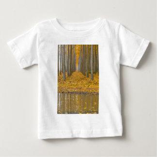 T-shirt Pour Bébé _MG_3099aReflection à la ferme d'arbre de peuplier