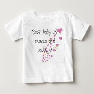 T-shirt Pour Bébé Mieux babby du mumma et du papa
