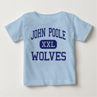 T-shirt Pour Bébé Milieu Poolesville de loups de John Poole