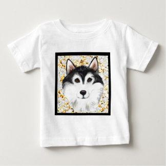 T-shirt Pour Bébé Million de Malamute d'Alaska du dollar
