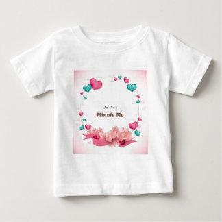 T-shirt Pour Bébé Minnie je
