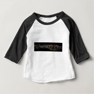 T-shirt Pour Bébé Mississauga, Ontario la nuit
