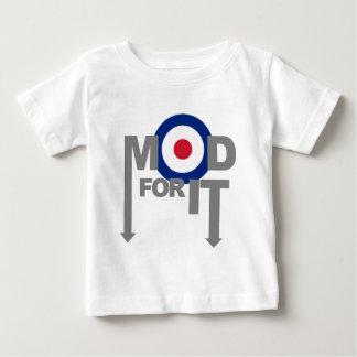T-shirt Pour Bébé Mod pour lui