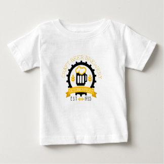 T-shirt Pour Bébé Modèle de conception de logo de bière avec la