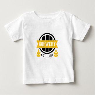 T-shirt Pour Bébé Modèle de conception de logo de brasserie