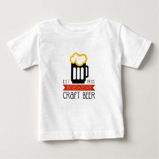 T-shirt Pour Bébé Modèle de conception de logo de brasserie de