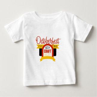 T-shirt Pour Bébé Modèle de conception de logo d'Oktoberfest