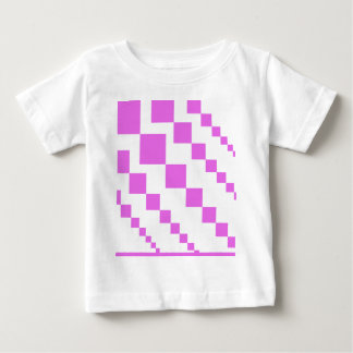 T-shirt Pour Bébé Modèle descendant rose de diamants