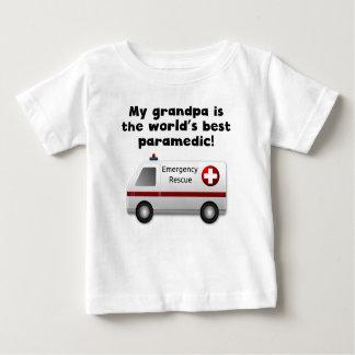 T-shirt Pour Bébé Mon grand-papa est le meilleur infirmier du mot