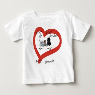 T-shirt Pour Bébé Mon Moodles sont mes meilleurs amis