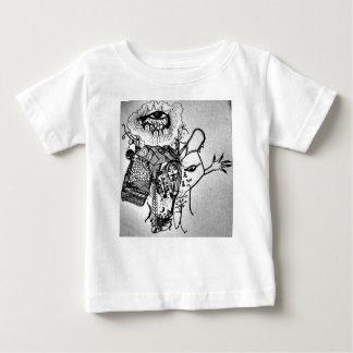 T-shirt Pour Bébé Mon oeil sur le monde