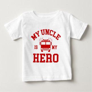 T-shirt Pour Bébé Mon oncle Is My Hero