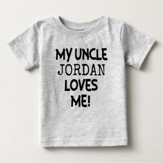 T-shirt Pour Bébé Mon oncle m'aime chemise faite sur commande pour