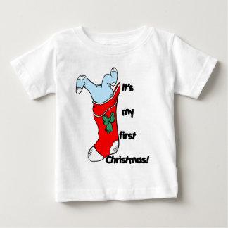 T-shirt Pour Bébé Mon premier Noël