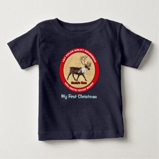 T-shirt Pour Bébé Mon premier Noël - ęr escadron polaire de