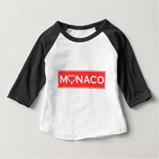 T-shirt Pour Bébé monaco