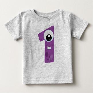 T-shirt Pour Bébé Monstre 1