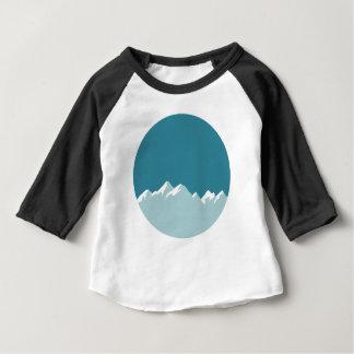 T-shirt Pour Bébé montagne