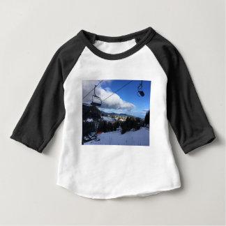 T-shirt Pour Bébé Montagne de ski