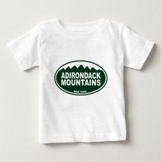 T-shirt Pour Bébé Montagnes d'Adirondack