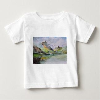 T-shirt Pour Bébé Montagnes écossaises
