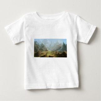 T-shirt Pour Bébé Montagnes et neige