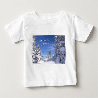 T-shirt Pour Bébé Montagnes rocheuses de Milou le Colorado