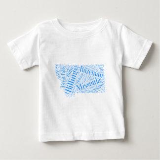 T-shirt Pour Bébé Montana-bleu
