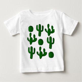 T-shirt Pour Bébé Motif de cactus - transparent