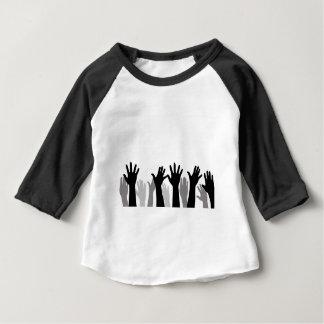 T-shirt Pour Bébé motif de conception d'art de mains