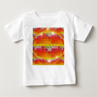 T-shirt Pour Bébé Motif orange de boule de disco