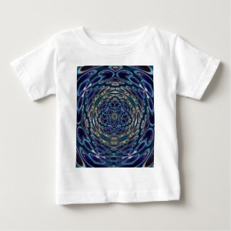 T-shirt Pour Bébé Motif portail d'atome psychédélique