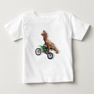T-shirt Pour Bébé Moto de rex de T - tour de rex de t - rex volant