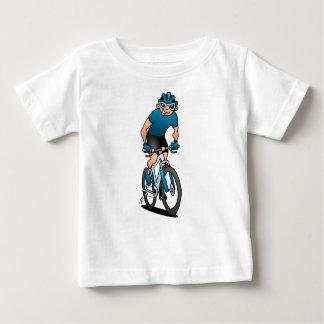 T-shirt Pour Bébé MTB - Cycliste de montagne dans les montagnes
